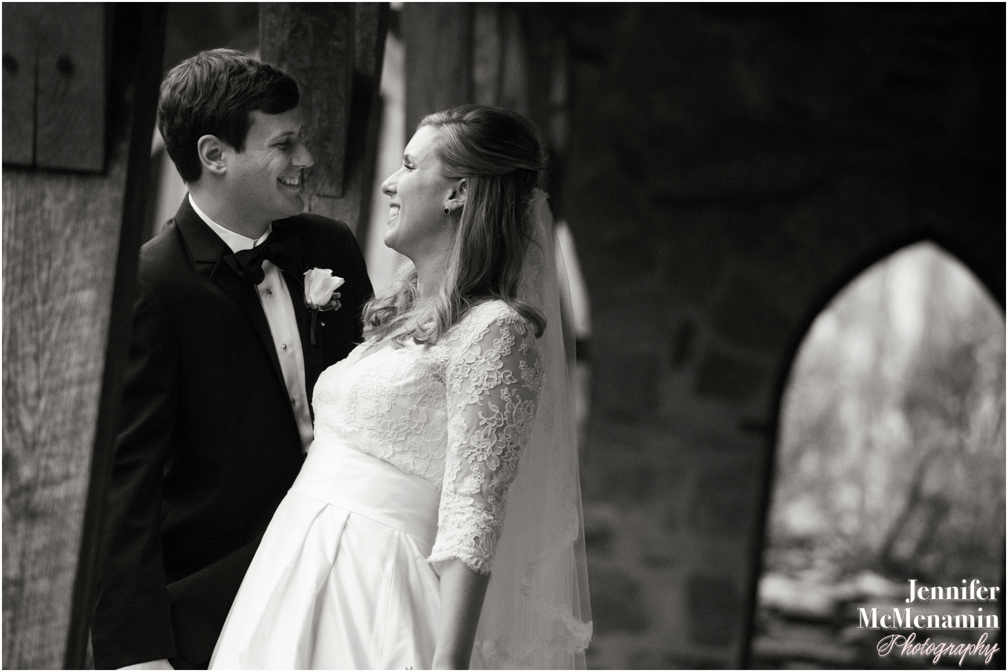 0075_RyanClemmens_02074bw-0567_JenniferMcMenaminPhotography_Immaculate-Conception-Church_The-Cloisters_Baltimore-wedding-photography_Baltimore-wedding-photographer