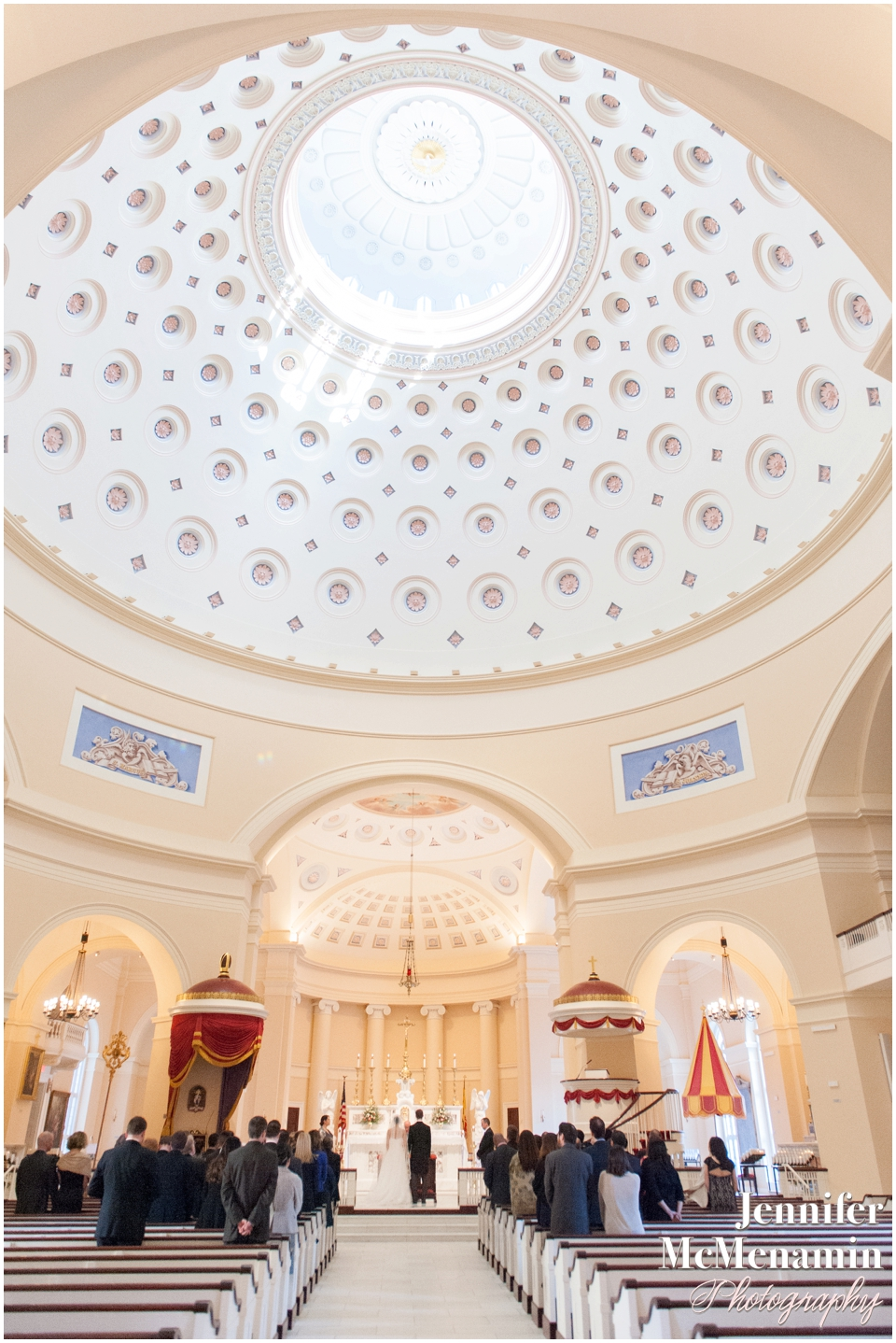 28-Baltimore-Basilica-wedding-couple