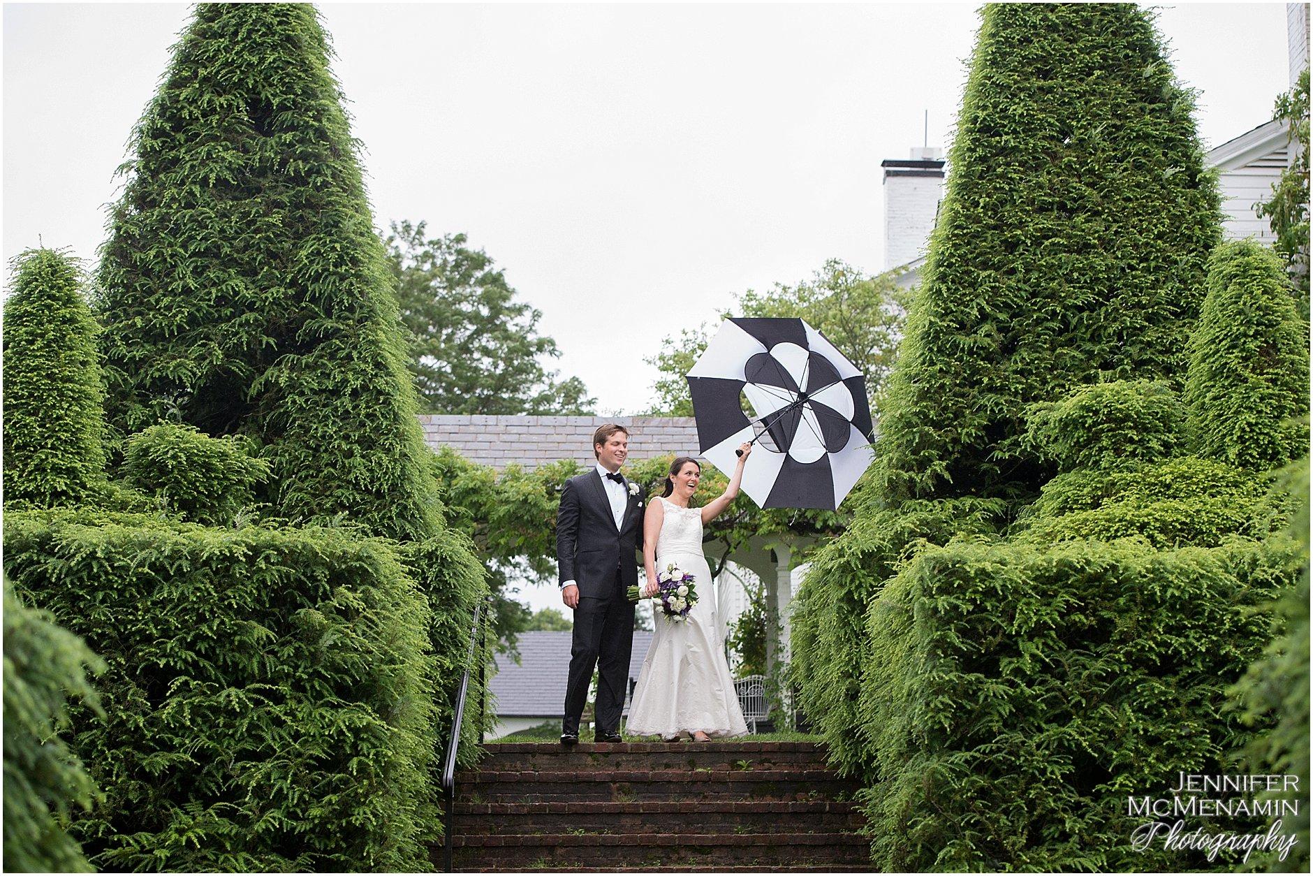 Ladew Topiary Gardens Wedding Anne
